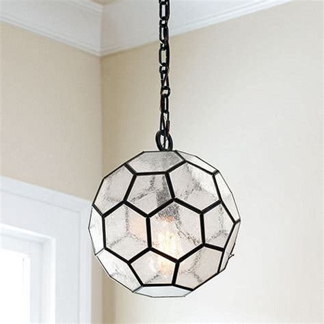 Ballard Design Desk copy cat chic marjorie skouras design honeycomb pendant