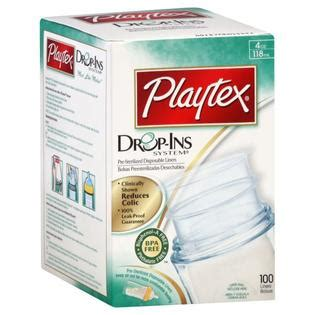 Playtex Drop Ins 118ml playtex nurser drop ins bottle liners