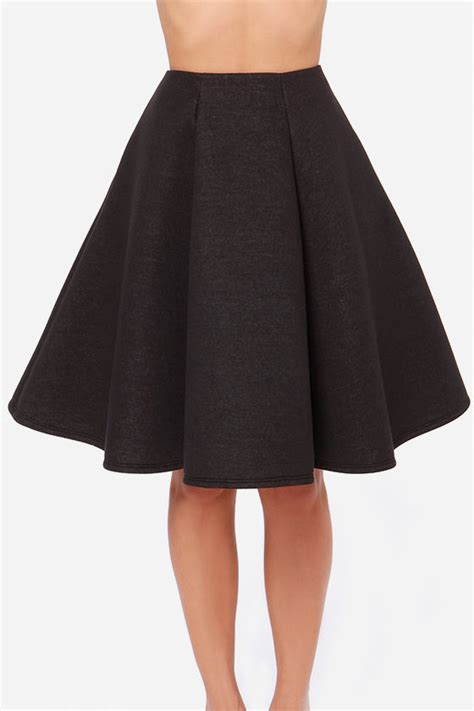 swing dance skirts black skirt flared skirt midi skirt 45 00