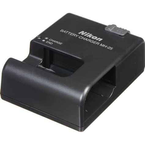 nikon charger nikon mh 25 charger 27015 b h photo