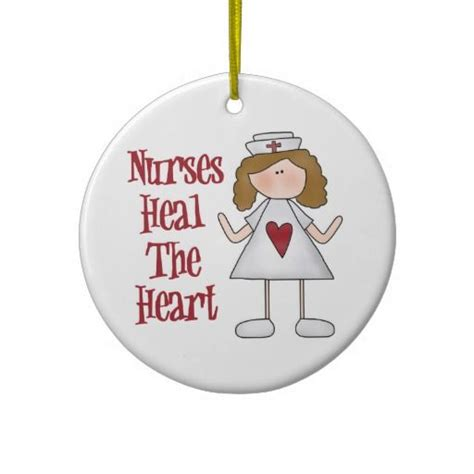 christmas nurse nurse christmas tree ornament this