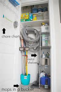 Cleaning Closet Ideas by Getting Organized In 2012 Organizing Cleaning Supplies