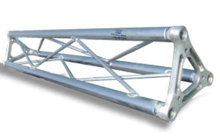 traliccio in alluminio traliccio in alluminio sezione triangolare da 18cm l 100cm