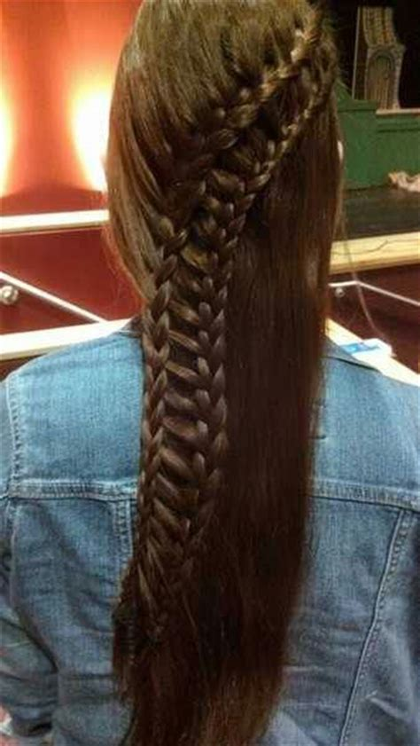 braided hair on a track train tracks ladder braid and ladder on pinterest