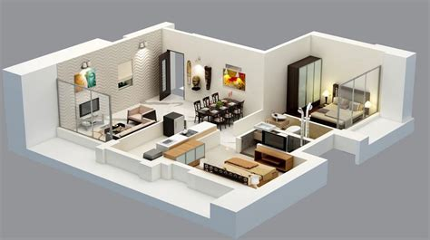 Cheap Home Decors by Interior Designing Tips For 2 Bhk Flat Happykeys