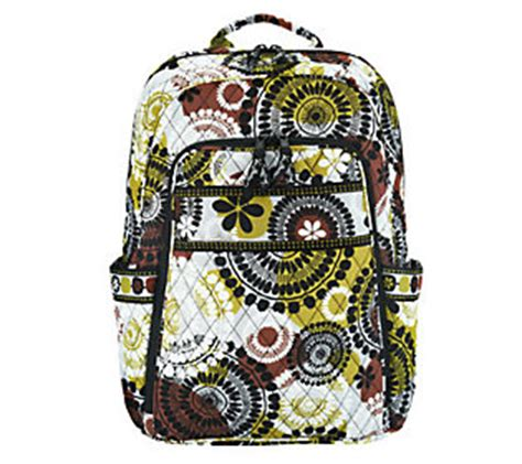 Printable Vera Bradley Gift Card - vera bradley signature print laptop backpack qvc com