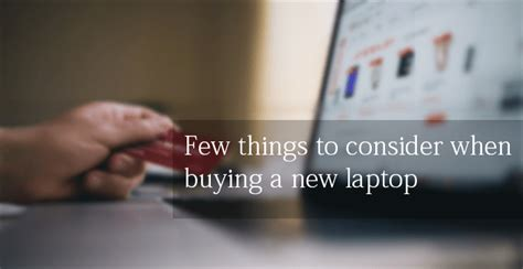 Points To Consider When Choosing A Laptop by How To Choose Laptop Pc How To Select Laptop Computer