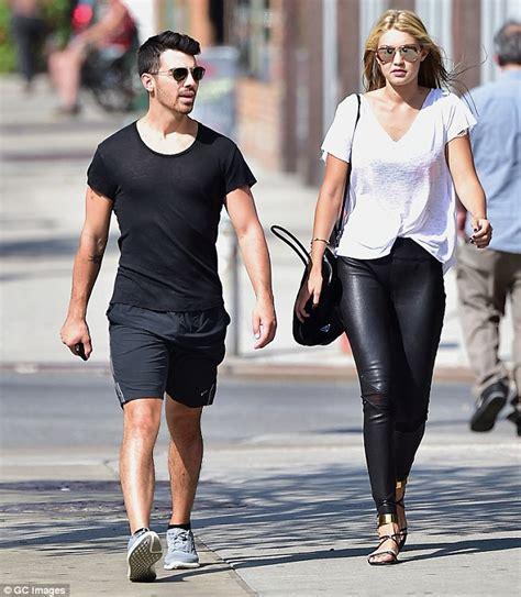 gigi hadid s boyfriend joe jonas photos pics gigi hadid strolls around new york with joe jonas