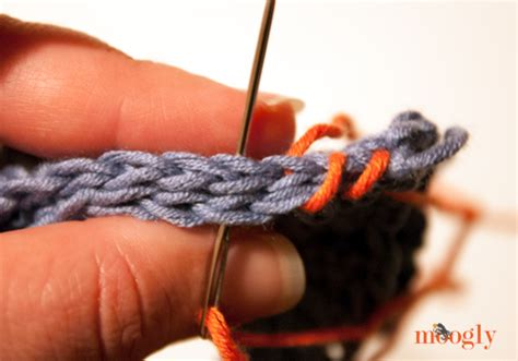 Tutorial Whip Stitch Seaming Moogly
