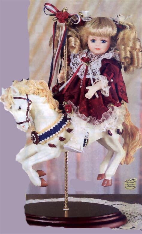porcelain doll on carousel hailey