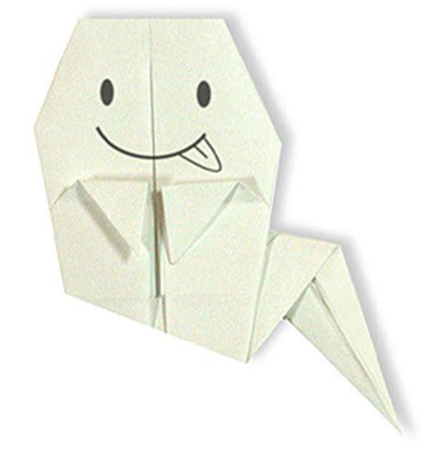 Origami Ghost - origami ghost paper origami guide
