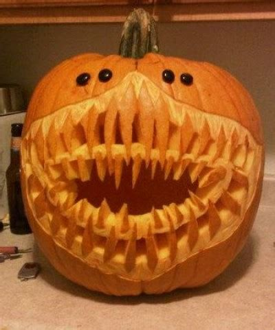 creative halloween pumpkin carvings   davison creators