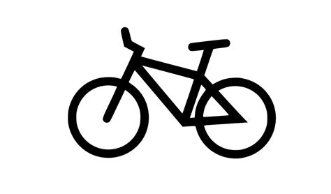 Sepeda Simple Bicycle bicycle vector svg png onlygfx