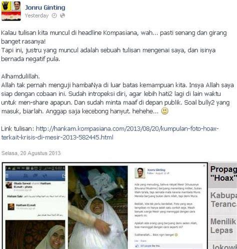 fb jonru kabar islam foto foto palsu fitnah mesir