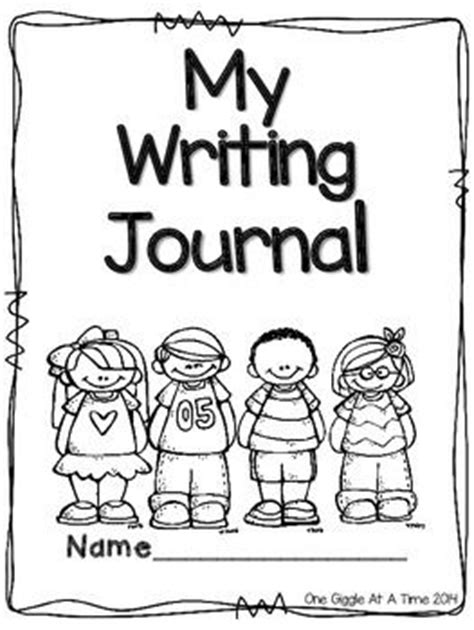 free printable kindergarten journal covers best 25 writing journal covers ideas on pinterest