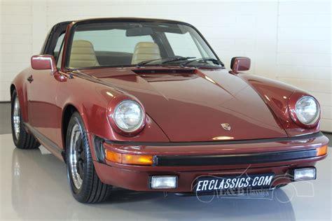 Porsche 911 Oldtimer by Porsche 911 Targa Oldtimers Te Koop Bij E R Classic Cars