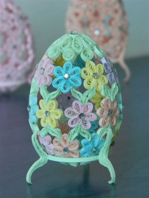 quilling egg tutorial 17 best images about quilled eggs on pinterest quilling