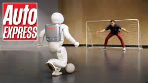 Honda Robots Honda S Asimo The Penalty Taking Bar Tending Robot