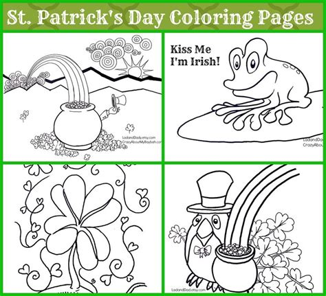 17 Best Images About St Patrick S Day Ideas On Pinterest St S Day Coloring Pages For Adults