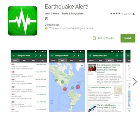earthquake alert 5 smartphone apps that warn users of quakes news feature