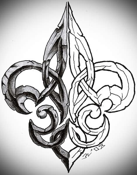 flor de lis tattoo designs fleur de lis images designs