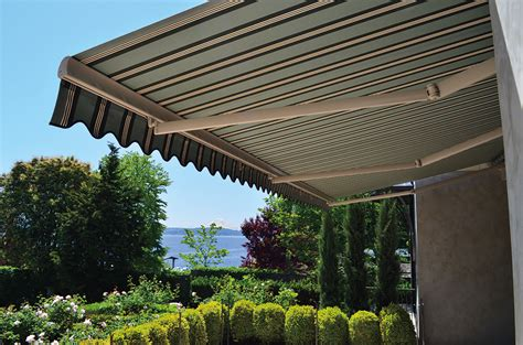 deck shades awning retractable deck awnings rainier shade