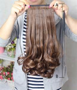how to install clip in extensions on corn roll hair 16 18 21 22 24 quot tie up pony tail clip on hair extensions