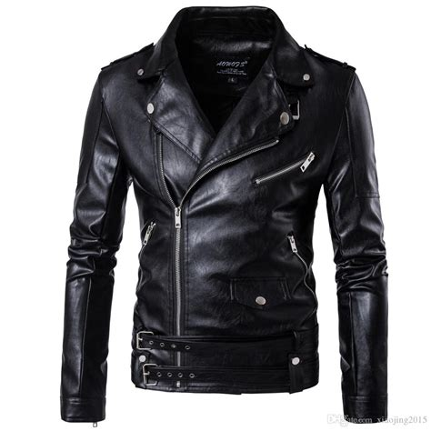cool motorcycle jackets 2017 black moto leather jackets for men short cool best