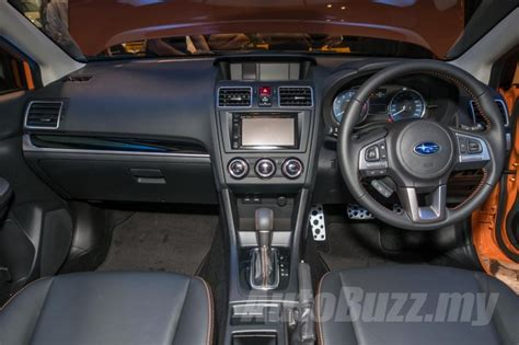 subaru xv 2016 interior subaru xv facelift arrives in malaysia priced from rm121k