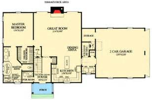 cape cod floor plans cape cod with open floor plan 32435wp architectural designs house plans