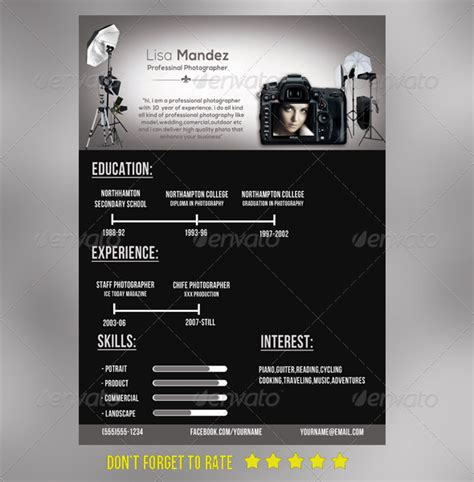 awesome resume cv templates 56pixels