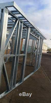 garden building frame metal frame garden room gym home