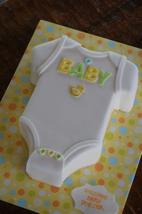 Baby Shower Cakes For Design by Onesie Shaped Baby Shower Cake Shaped Cakes