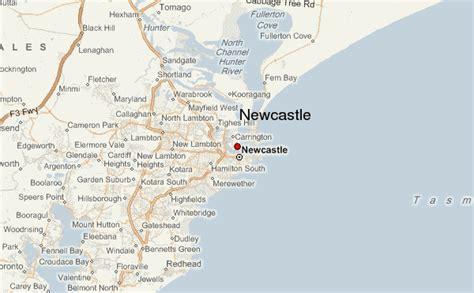 newcastle australia map newcastle location guide