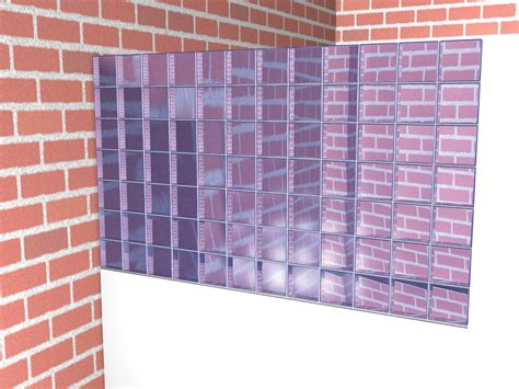 Cheap Wall Tiles by How To Install Glass Blocks 9 Steps With Pictures Wikihow