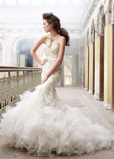 Wedding Dresses Couture by Mermaid Couture Wedding Gown Sang Maestro