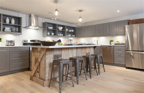 wood kitchen island reclaiming wood for today s modern homes