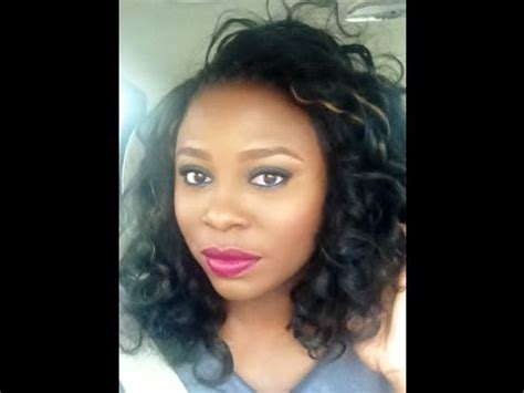 straight crochet braids with kanekalon hair, products used
