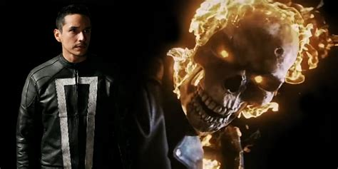 agents of s h i e l d actor teases ghost rider s return