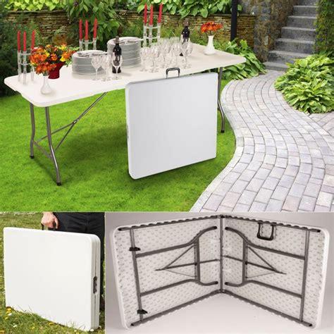 table banquet pliante table pliante d appoint portable pour cing ou r 233 ception