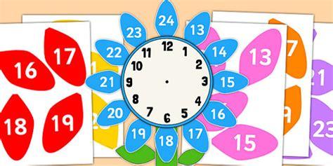 12 to 24 hour clock label flower 12 24 hour clock clock