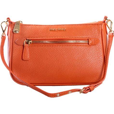Miu Miu Small Shoulder Bag by Authentic Miu Miu Small Leather Shoulder Bag 5n1739