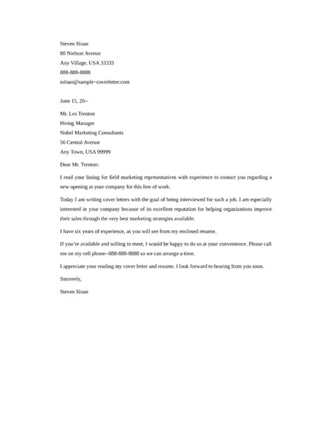 marketing cover letters marketing cover letter crna cover letter