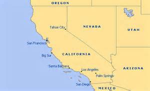 maps united states map california
