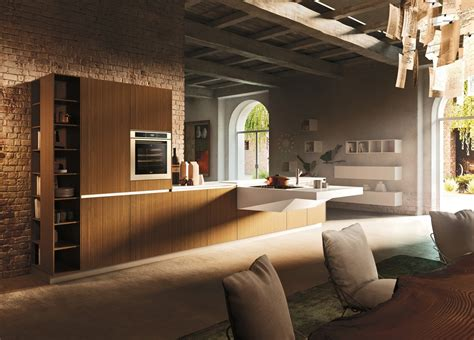 urban loft plans modern italian kitchens from snaidero