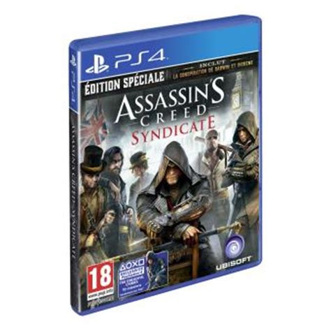 Bd Ps3 Kaset Syndicate assassin s creed syndicate edition sp 233 ciale ps4 sur playstation 4 jeux vid 233 o fnac ch