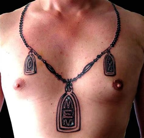 necklace tattoo designs for men locket tattoos designs ideas and meaning tattoos for you