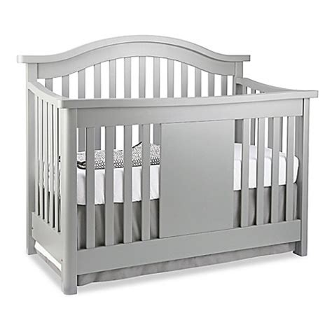 Baby Appleseed Stratford Crib Baby Appleseed 174 Stratford 4 In 1 Convertible Crib In Moon Grey Buybuy Baby