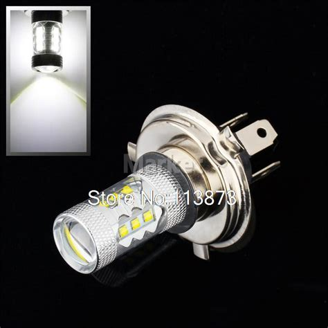Led Light Bulbs Car 2pcs H4 80w Cree Led Car Fog L H4 Led Headlight Bulb Auto Lights Car Led Bulbs Car Light