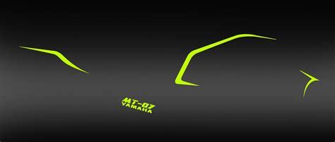 Aufkleber Yamaha Mt 07 by Kit Dekor Line Fluo Gelb Idgrafix Yamaha Mt 07 Idgrafix
